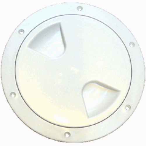"Yachtmail Inspection Hatch 6"" White"