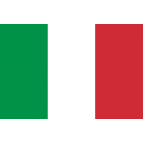 Italy Courtesy Flag