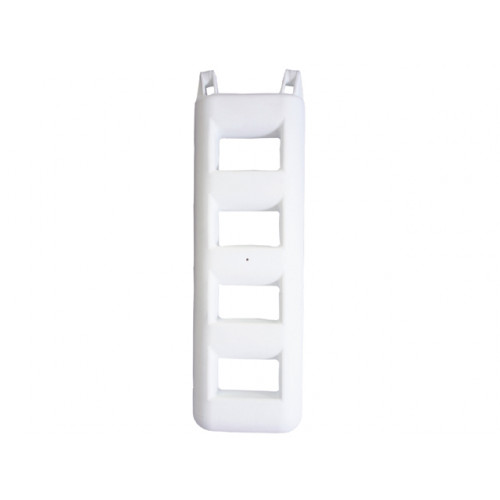 4 step fender Ladder - white