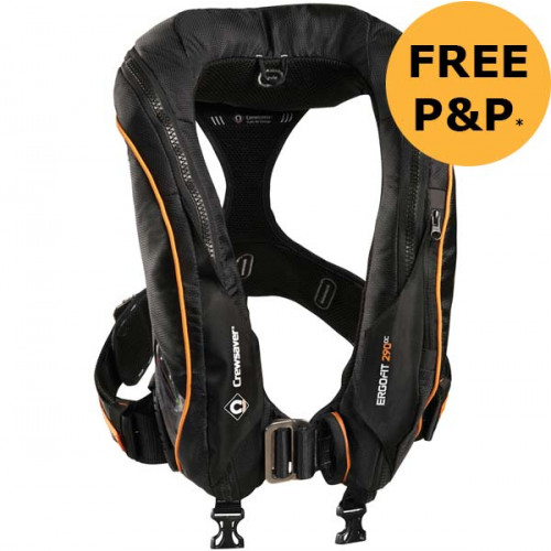 Crewsaver Ergofit 290N Ocean Lifejacket - Automatic Harness