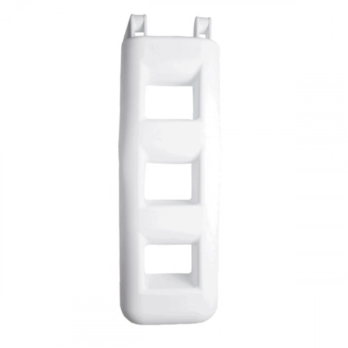 3 Step Fender Ladder - White