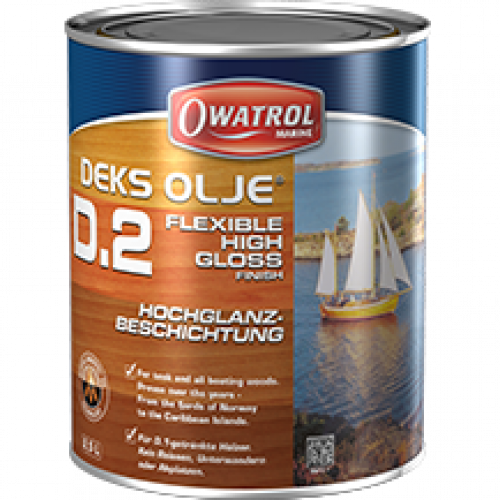 Owatrol Flexible High Gloss Oil Varnish - 1 Litre