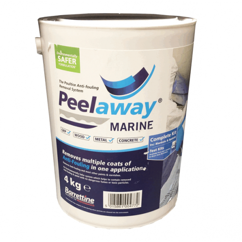 Peelaway Antifoul Removal System 4kg Includes Blankets and Spatula