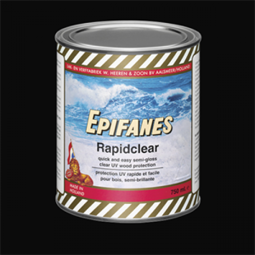 Epifanes Rapid Clear Varnish - 750ml