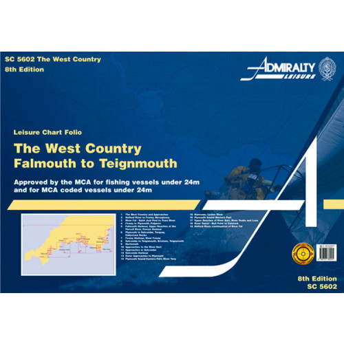 SC5602 West Country Falmouth to Teignmouth (Admiralty Leisure Chart Folio)