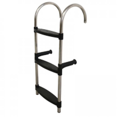 Stainless Steel 3 Or 4 Step Hook Over Ladder