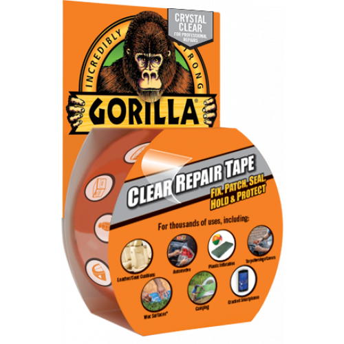 8.2m Clear Gorilla Repair Tape - Fix, Patch, Seal, Hold & Protect!