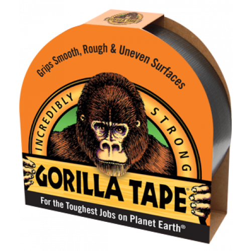 Black Gorilla Tape - Gorilla Tough on a Roll!