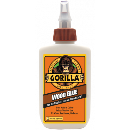 118ml Gorilla Wood Glue - Wood Glue Just Got Tougher!