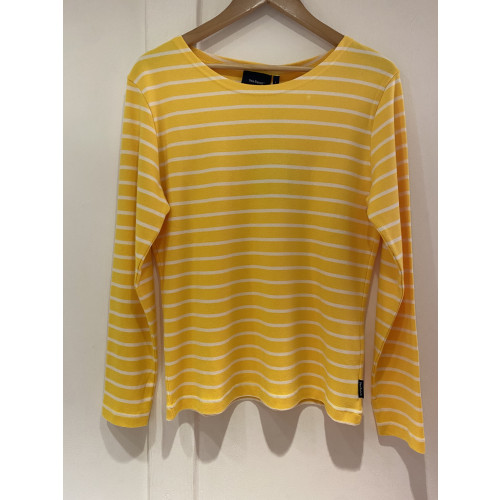Sea Ranch of Denmark - Woman's Long Sleeve Tee - (ANTIBES) (Yellow/Pearl)